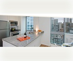 Stylish Luxury Clinton Two Bedroom Rental with Iconic Views from Chrysler Building to George Washington Bridge - $6500