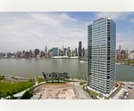Long Island City: 1 Bedroom 1 Bathroom. Doorman, Swimming Pool, Sundeck. 7 Train to Grand Central. No Broker Fee.