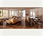 Turnkey Beautiful One Bedroom in Battery Park City w/Cityscape Views