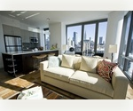 Stunning High Floor West Chelsea One Bedroom w/Water Views