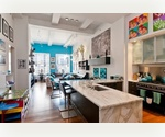 Charlton Street. Authentic Three Bedroom Two Bathroom Loft  w/ 14' Ceilings.