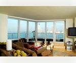 NEW TO MARKET: Massive One Bed / Flex Two Bedroom in Prime Battery Park City w/River Views & Full Service Amenities
